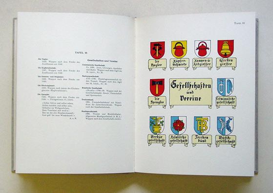 Wappen der Bürger von Luzern 1798- 1924.: Rhyn, August am