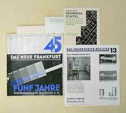 Das Neue Frankfurt. Internationale Monatsschrift Für Die