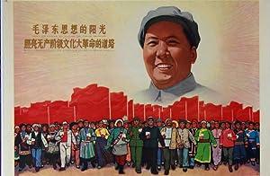 Plakat - Mao ze dong si xiang de yang guang - Zhao liang wu chan jie ji wen hua da ge ming de dao ...