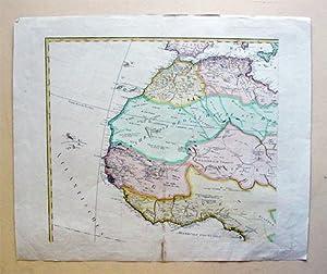 Westafrika: Maroco, Algier, Sahra, Senega, Königreich Tombut, Guinea, Königreich Benin [...