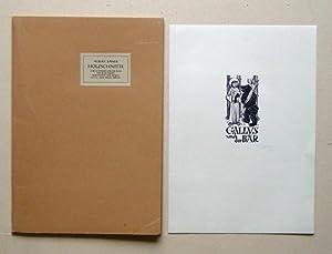 Holzschnitte zum Gottfried-Keller-Buch von Hans Kriesi: «Schutzgeist der Heimat» und &...