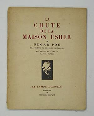 La chute de la maison Usher. Traduction: Poe, Edgar [Allan]