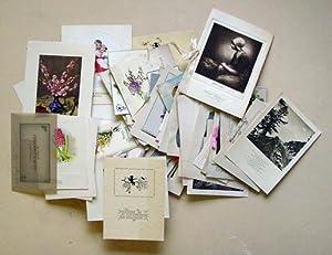 Glückwunschkarten - Verlobungen, Konfirmation, Geburt etc. Box mit 167 Kartenn, gedruckt ...