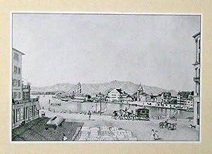 Alt-Zürich. Ansichten aus dem alten Zürich von 1840 bis 1850.: Kuhn, Nanny (Illustr.)
