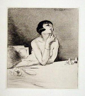 Mitsou. Vingt-six eaux-fortes et pointes-seches de Edgar Chahine.: Colette - Edgar Chahine (Illustr...