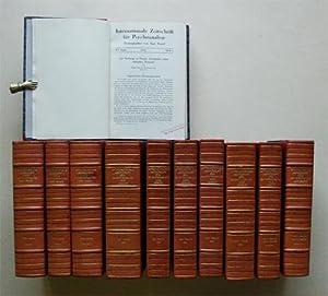 Internationale Zeitschrift für Psychoanalyse Bd. XV - XXVI (11 Bde.): .: Freud, Sigmund