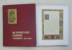 Die historischen Denkmäler Ungarns in der 1896er Millenniums-Landesausstellung. (896 - 1896). ...