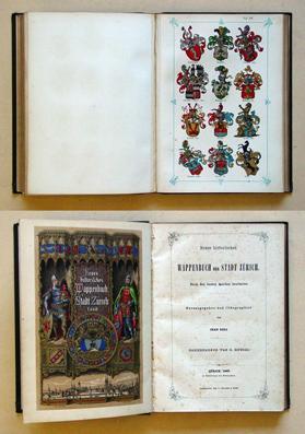 Neues historisches Wappenbuch der Stadt Zürich. Nach: Egli, Jean