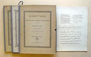 Schrifttafeln zur Erlernung der lateinischen Palaeographie. Begründet von Wilhelm Arndt. (1. ...