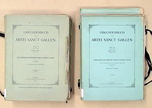 Urkundenbuch der Abtei Sanct Gallen [St. Gallen]. Herausgegeben von Historischen Verein des Kantons...