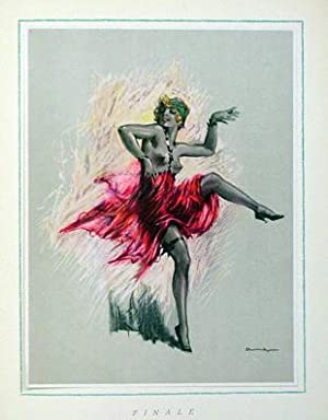 Tänze. Sechs farbige Drucke nach Originalen von: Ehrenberger, Ludwig Lutz
