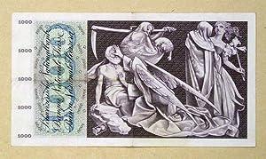 Totentanz. [Banknote] Tausend Franken.: Gauchat, Pierre (Ill.)