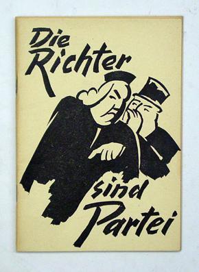 Die Richter sind Partei. Verteidigungsrede von E. Burlet vor dem Winterthurer Bezirksgericht.: ...