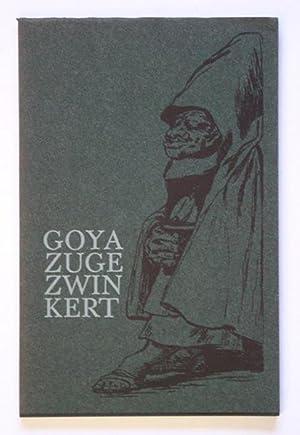Goya zugezwinkert. Zitate mit Zutaten.: Becker, Franz - Jochem Poensgen