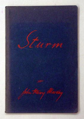 Sturm. Volks-Ausgabe.: Mackay, John Henry