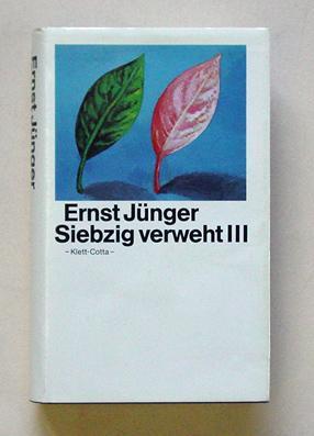 Siebzig verweht III.: Jünger, Ernst