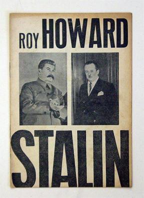 Stalin - Klare Antwort auf die von der Geschichte gestellten Fragen. Wortlaut der Unterredung ...