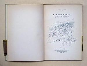Typographie und Kunst.: Kehrli, Otto J