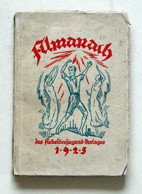 Almanach des Arbeiterjugend-Verlages 1925.