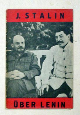 Über Lenin.: Stalin, J