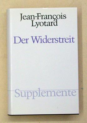 Der Widerstreit.: Lyotard, Jean-François