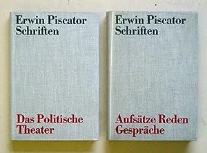 Schriften (2 Bde.).: Piscator, Erwin
