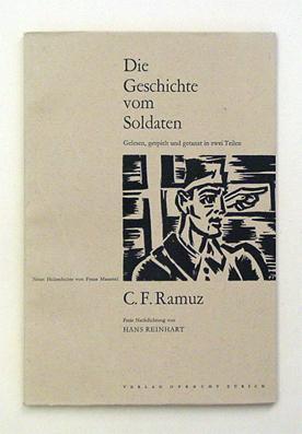 Die Geschichte vom Soldaten. Gelesen, gespielt und getanzt in zwei Teilen. Text von C. F. Ramuz. ...