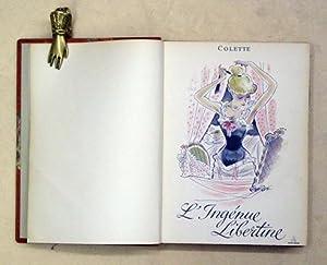 L?ingénue libertine. Dix illustrations de Maurice Pouzet.: Colette - Maurice
