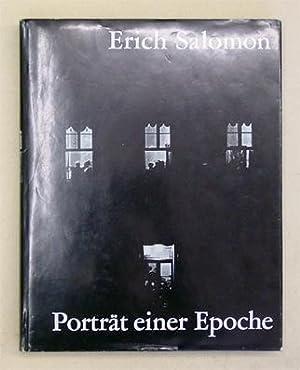 Erich Salomon - Porträt einer Epoche.: Salomon, Erich - Han de Vries (Hg.)