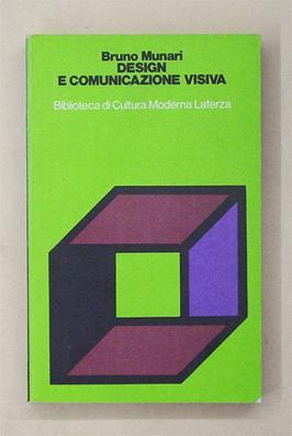 Design e comunicazione visiva. Contribuito a una: Munari, Bruno
