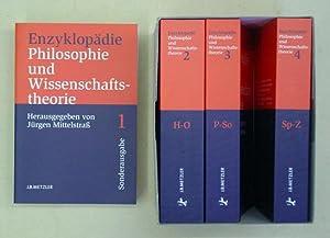Enzyklopädie Philosophie und Wissenschaftstheorie (4 Bde.).: Mittelstrass, Jürgen (Hg.)