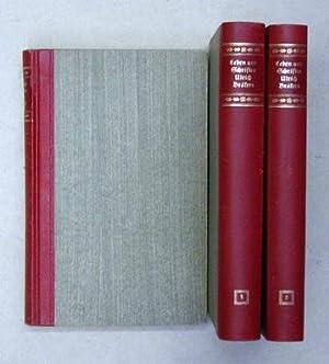 Leben und Schriften Ulrichs Bräkers, des Armen Mannes im Tockenburg (3 Bde., compl.).: Bräker,...