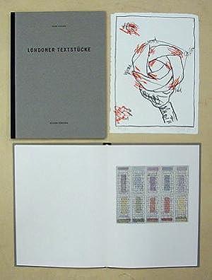 Londoner Journal / Londoner Textstücke. (2 Bde.).: Egloff, Anton u. Heinz Stalder