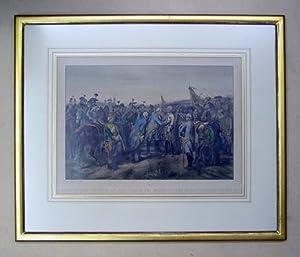 Erzherzog Carl empfängt das Grosskreuz des militärischen: Geiger, Johann Nepomuk