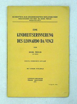 Eine Kindheitserinnerung des Leonardo da Vinci.: Freud, Sigmund
