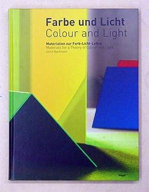Farbe und Licht/Colour and Light. Materialien zur Farb-Licht-Lehre.: Bachmann, Ulrich