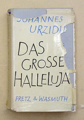Das grosse Halleluja. Roman.: Urzidil, Johannes