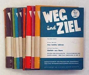 Weg und Ziel. Monatsschrift für Fragen der Demokratie und des wissenschaftlichen Sozialismus. ...