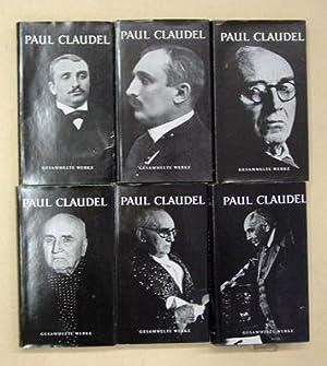 Gesammelte Werke. (6 Bde.; komplett).: Claudel, Paul - Edwin Maria Landau (Hg.)