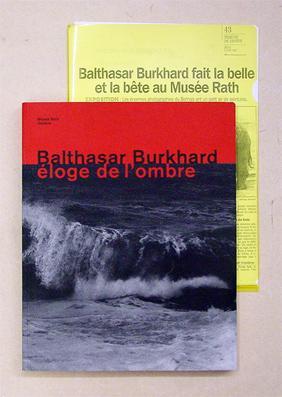 Eloge de l?ombre.: Burkhard, Balthasar