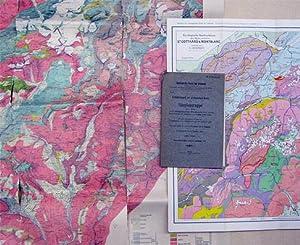 Geologische Karte der Simplongruppe 1 : 50 000. [Und:]. Erläuterungen zur geologischen Karte ...
