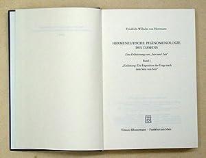 Hermeneutische Phänomenologie des Daseins. Eine Erläuterung von: Heidegger, Martin -