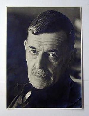 1 Originalfotografie: Porträt von Ch. F. Ramuz]. [Albuminabzug].: Ramuz, Charles Ferdinand - ...