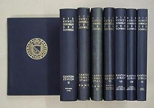 Die Kunstdenkmäler des Kantons Zürich. [Bd. III - IX; zus. 7 Bde.].: Escher, Konrad u. ...