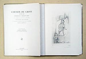 Chemin de croix. Poème de Pericle Patocchi.: Patocchi, Pericle -