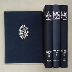 Die Kunstdenkmäler des Kantons Uri. [3 Bde. in 4 Bden.; zus. 4 Bde.].: Gasser, Helmi u. Thomas...