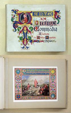 La Divina Commedia. Illustrata dall. Ing. Attilio: Dante Alighieri -