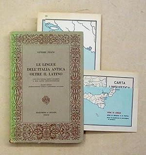 Le lingue dell?Italia antica oltre il latino.: Pisani, Vittore