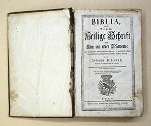 Biblia - Das ist: Die Ganze Heilige: Gott