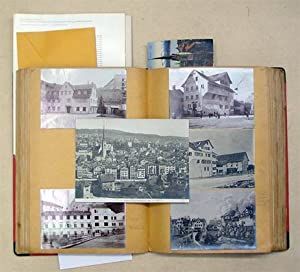 Stadt Zürich - Privates Sammelalbum mit zahlreichen: Morf, Fritz